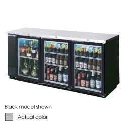 Beverage Air - BB78G-1-S - 79 in Glass Door Back Bar Cooler image