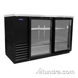 Nor-Lake - NLBB59-G - AdvantEDGE 59 in Glass Door Back Bar Cooler image