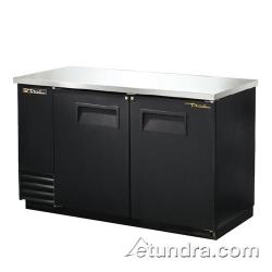 "True - TBB-2 - 59"" Back Bar Cooler w/ 2 Solid Doors image"