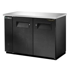 True - TBB-24-48-HC - 49 in Back Bar Cooler w/ 2 Solid Swing Doors image