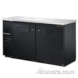 "True - TBB-24-60 - 61"" Back Bar Cooler w/ 2 Solid Doors image"
