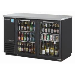 Turbo Air - TBB-2SG - 59 in Back Bar Cooler w/2 Glass Doors image