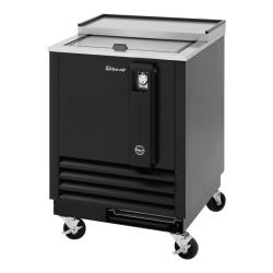 Turbo Air - TBC-24SB-N6 - 24 in Black Bottle Cooler image