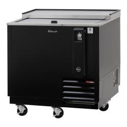 Turbo Air - TBC-36SB-N6 - 36 in Black Bottle Cooler image