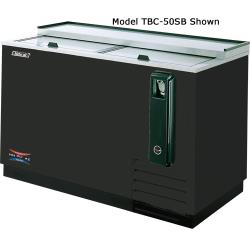 Turbo Air - TBC-50SB - 50 in Black Bottle Cooler image