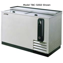 Turbo Air - TBC-50SD - 50 in Stainless Steel Bottle Cooler image