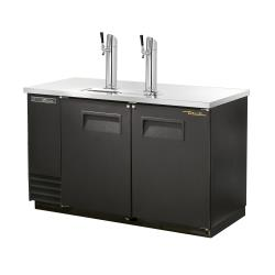 True - TDD-2-HC - 59 in 2-Keg Draft Beer Dispenser image