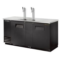 True - TDD-3-HC - 69 in 3-Keg Draft Beer Dispenser image
