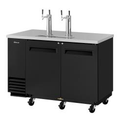 Turbo Air - TBD-2SB-N6 - 59 in Black Draft Beer Dispenser image