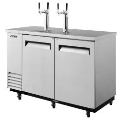Turbo Air - TBD-2SD - 59 in Stainless Steel Draft Beer Dispenser image