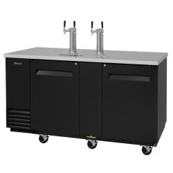 Turbo Air - TBD-3SB-N - 69 in Black Draft Beer Dispenser image