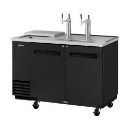Turbo Air - TCB-2SB-N6 - 59 in Black Club Top Beer Dispenser image