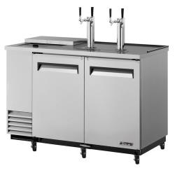 Turbo Air - TCB-2SD - 59 in Stainless Club Top Beer Dispenser image