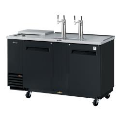 Turbo Air - TCB-3SB-N6 - 69 in Black Club Top Beer Dispenser image