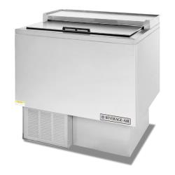 Beverage Air - GF34L-S - 34 in Stainless Steel Glass & Plate Chiller image