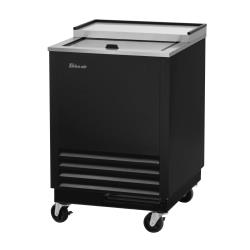 Turbo Air - TBC-24SB-GF-N6 - 24 7/8 in 1-Lid Black Glass Chiller image