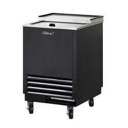 Turbo Air - TBC-36SB-GF - 36 3/7 in 1 Lid Black Glass Chiller image