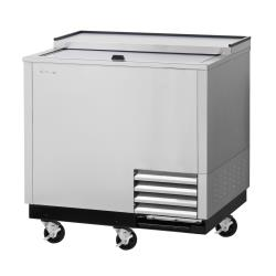 Turbo Air - TBC-36SD-GF-N - 36 in Stainless Steel Super Deluxe Glass Chiller image