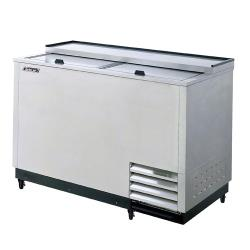 Turbo Air - TBC-50SD-GF - 50 in 2 Lid SS Glass Chiller image