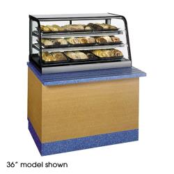 "Federal - CRB4828SS - 48"" Countertop Refrigerated Self-Serve Bottom Mount Merchandiser image"