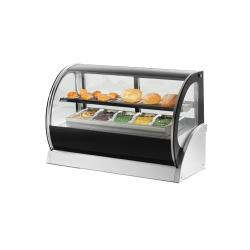 "Vollrath - 40854 - 60"" Curved Glass Refrigerated Display Cabinet image"