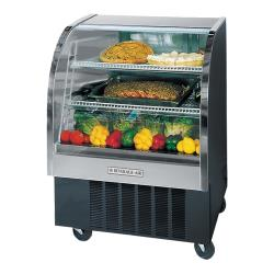 Beverage Air - CDR3HC/1-B-20 - 37 in Black Refrigerated Display Case image