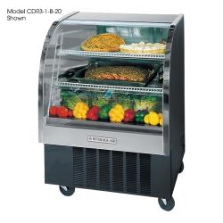 Beverage Air - CDR4HC/1-B-20 - 49 in Black Refrigerated Display Case image