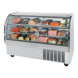 Beverage Air - CDR5/1-S-20 - 61 in Stainless Steel Refrigerated Display Case image