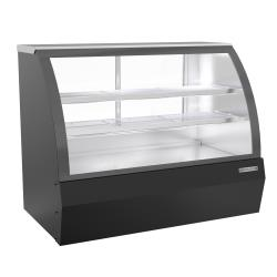 Beverage Air - CDR5HC-1-B-D - 60 in Black Dry Curved Deli Case image