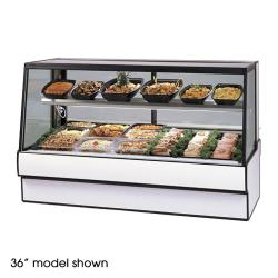 "Federal - SGR7748CD - High Volume 77"" Refrigerated Deli Case image"