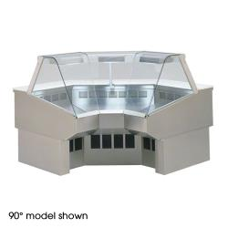Federal - SQ-RIC45SS - Market Series Refrigerated 45° Inside Corner Self-Serve Deli Case image