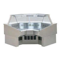 Federal - SQ-RIC90SS - Market Series Refrigerated 90° Inside Corner Self-Serve Deli Case image