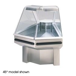 Federal - SQ-ROC90SS - Market Series Refrigerated 90° Outside Corner Self-Serve  Deli Case image