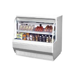 Turbo Air - TCDD-48-2-L - 48 in Low Profile Refrigerated Deli Case image