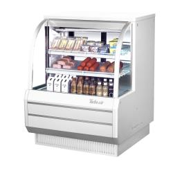 Turbo Air - TCDD-48H-W-N - 48 in High-Profile Refrigerated Deli Case image