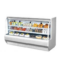 Turbo Air - TCDD-96-4-H - 96 in High Profile Refrigerated Deli Case image
