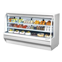 Turbo Air - TCDD-96H-W-N - 96 in High-Profile Refrigerated Deli Case image