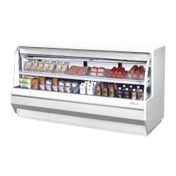 Turbo Air - TCDD-96L-W-N - 96 in Low-Profile Refrigerated Deli Case image
