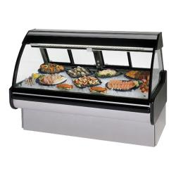 "Federal - MCG-454-DF - Curved Glass 48"" Seafood/Fish Maxi Deli Case image"