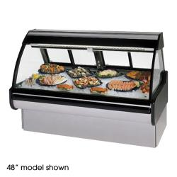 "Federal - MCG-654-DF - Curved Glass 72"" Seafood/Fish Maxi Deli Case image"
