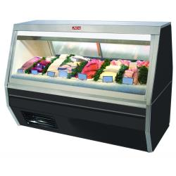 Howard McCray - SC-CFS35-4-BE-LED - 50 in Black Double Duty Fish/Poultry Case image