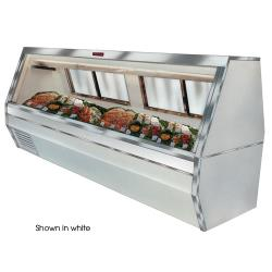 Howard McCray - SC-CFS35-8-BE-LED - 95 in Black Double Duty Fish/Poultry Case image