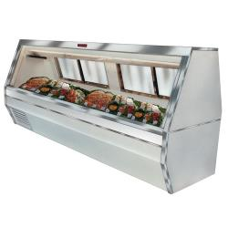 Howard McCray - SC-CFS35-8-LED - 95 in White Double Duty Fish/Poultry Case image