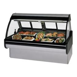 "Federal - MCG-454-DM - Curved Glass 48"" Red Meat  Maxi Deli Case image"