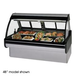 "Federal - MCG-854-DM - Curved Glass 96"" Red Meat Maxi Deli Case image"