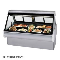 "Federal - MSG-1054-DM - High Volume 120"" Red Meat Maxi Deli Case image"