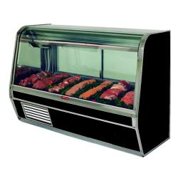Howard McCray - SC-CMS32E-4-BE-LED - 50 in x 49 3/5 in Black Meat Case image