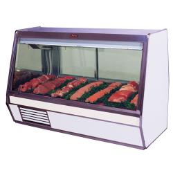 Howard McCray - SC-CMS32E-8-LED - 98 in x 49 3/5 in White Meat Case image