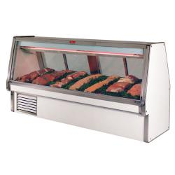 Howard McCray - SC-CMS34E-12-LED - 148 1/2 in x 53 1/2 in White Red Meat Case image