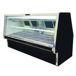 Howard McCray - SC-CMS34E-6-BE-LED - 76 1/2 in x 53 1/2 in Black Red Meat Case image